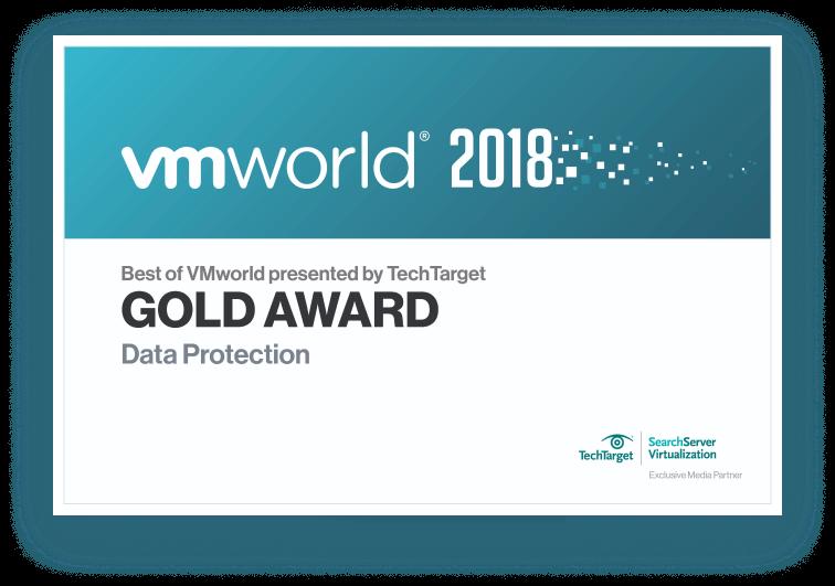 """""""Best of VMworld 2018"""" Gold Award Winner"""