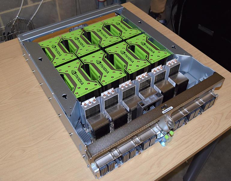 Nvidia dgx2 gpu baseboard