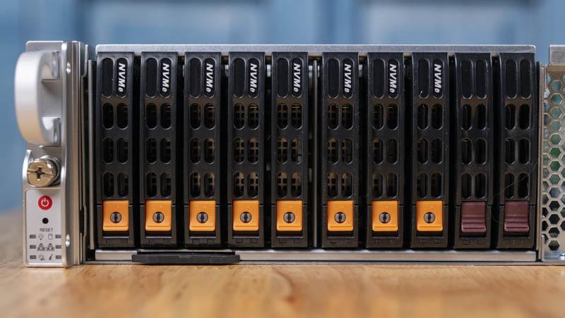 Bộ lưu trữ phía trước Supermicro 2049P TN8R