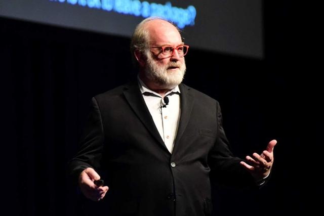 Diễn giả Thomas Frey. Ảnh: ABC.