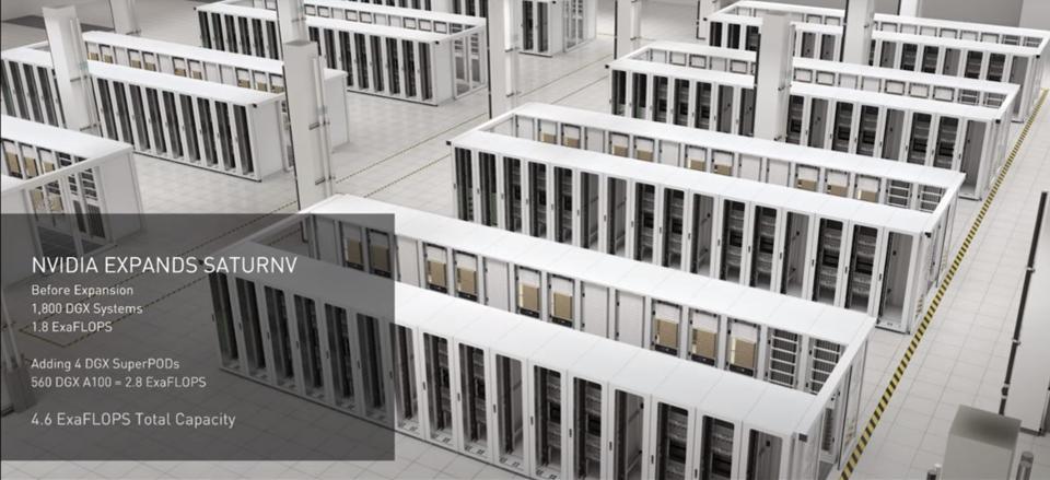 Nvidia có siêu máy tính riêng của mình được gọi là SaturnV