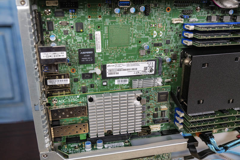 Supermicro SYS 1019P WTR M2 USB 3 BMC