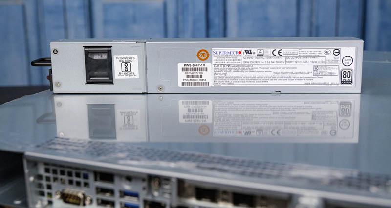 PSU Supermicro SYS 1019P WTR 500W