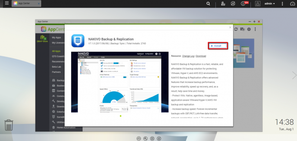 Tìm kiếm NAKIVO Backup & Replication