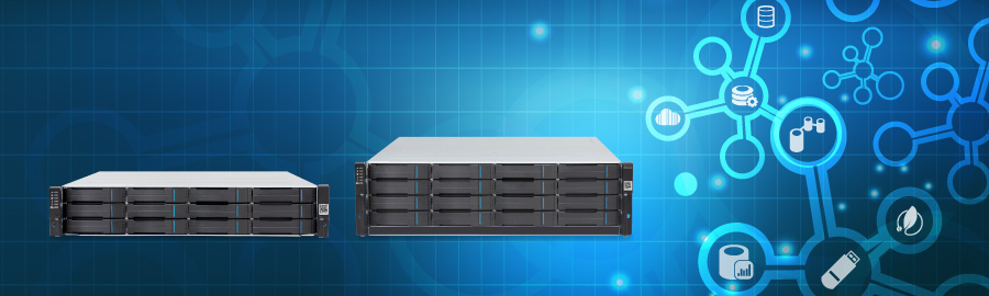 EonStor GS - The comprehensive package in one system