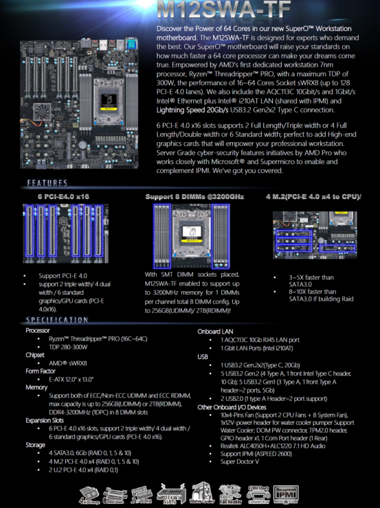 supermicro-wrx80-máy trạm-bo mạch chủ