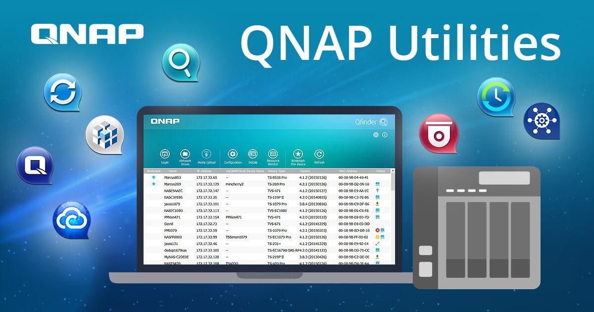 Utilities | QNAP