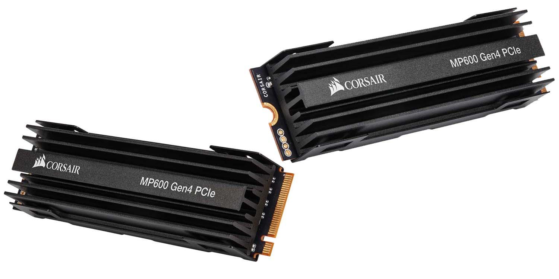CORSAIR Force Series MP600 PCIe 4.0 M.2 SSD Announced