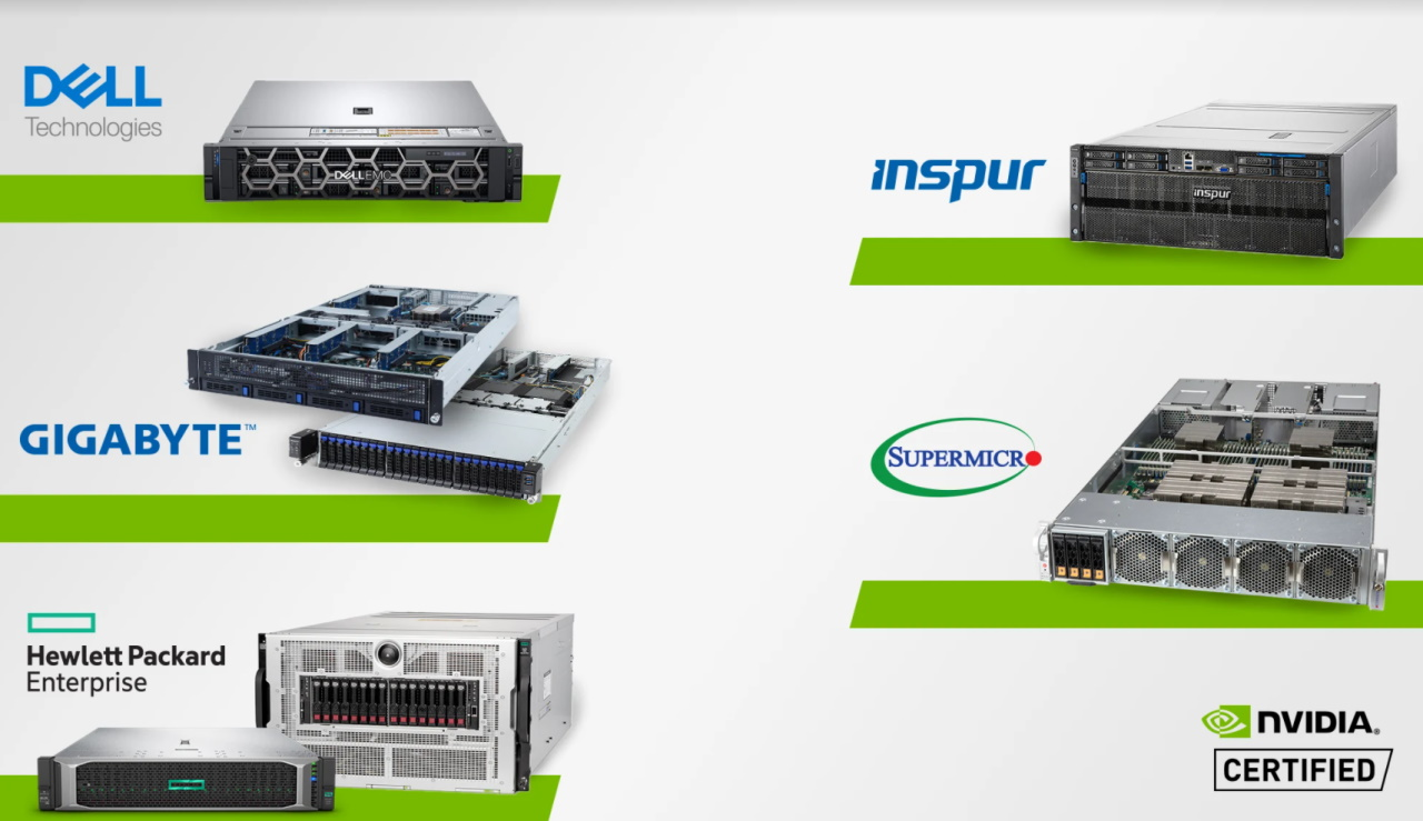Top OEM Servers Pass NVIDIA-Certified Systems Tests | NVIDIA Blogs
